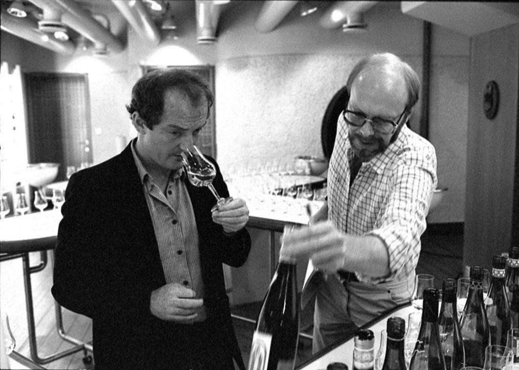 Jan Samuelson och Oz Clarke